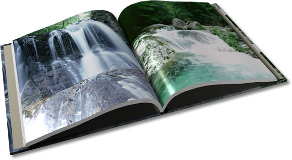 糸綴じ製本のフォトブック