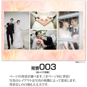 003淡いバラ背景