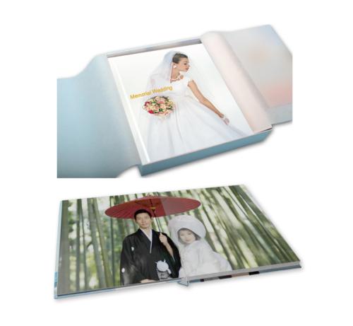 結婚式・ウェディングに人気のページ厚めの重厚感漂うフォトブック
